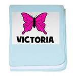 Butterfly - Victoria baby blanket