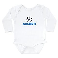 Soccer - Sandro Long Sleeve Infant Bodysuit