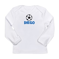 Soccer - Diego Long Sleeve Infant T-Shirt