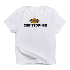 Christopher - Football Infant T-Shirt