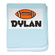 Dylan - Football baby blanket