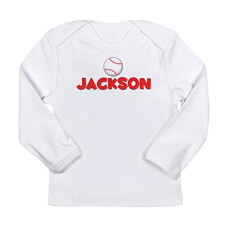 Jackson Baseball Long Sleeve Infant T-Shirt