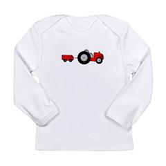 Tractor Design Long Sleeve Infant T-Shirt