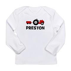 Tractor - Preston Long Sleeve Infant T-Shirt