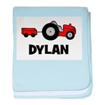Tractor - Dylan baby blanket
