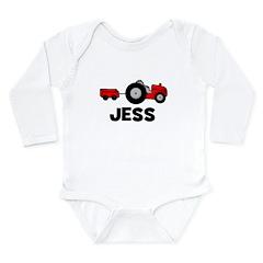 Tractor Jess Long Sleeve Infant Bodysuit