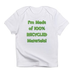 Made of 100% Recycled (green) Infant T-Shirt