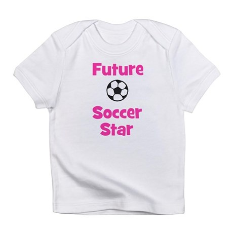 Future Soccer Star (pink) Infant T-Shirt