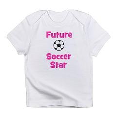 Future Soccer Star (pink) Infant T-Shirt