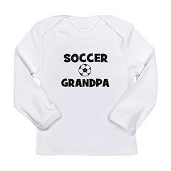 Soccer Grandpa Long Sleeve Infant T-Shirt