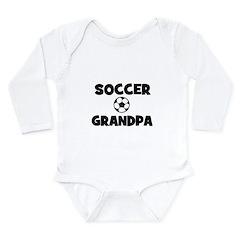 Soccer Grandpa Long Sleeve Infant Bodysuit