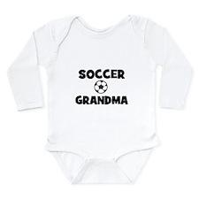 Soccer Grandma Long Sleeve Infant Bodysuit