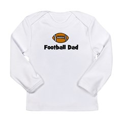 Football Dad Long Sleeve Infant T-Shirt