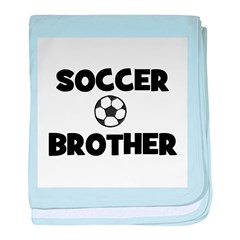 Soccer Brother baby blanket