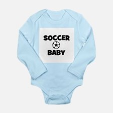 Soccer Baby Long Sleeve Infant Bodysuit