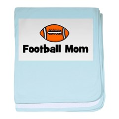 Football Mom baby blanket