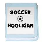 Soccer Hooligan baby blanket