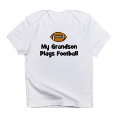 My Grandson Plays Football Infant T-Shirt