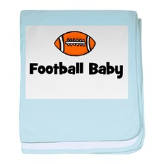 Football Baby baby blanket