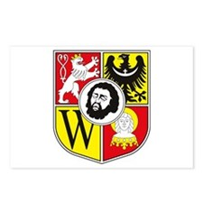 Wroclaw Coat of Arms Postcards (Package of 8)