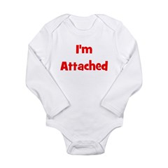 I'm Attached - Multiple Color Long Sleeve Infant B