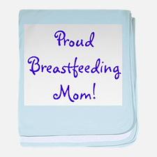 Proud Breastfeeding Mom - Mul baby blanket