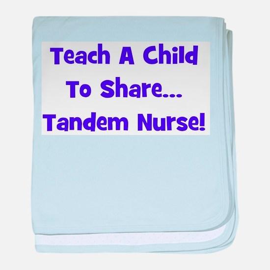Tandem Nurse - Multiple Color baby blanket