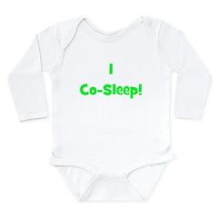 I Co-Sleep! - Multiple Color Long Sleeve Infant Bo