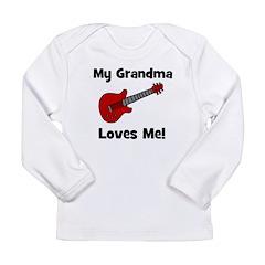 My Grandma Loves Me! w/guitar Long Sleeve Infant T
