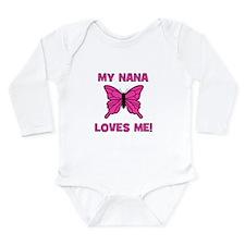 Butterfly - My Nana Loves Me! Long Sleeve Infant B