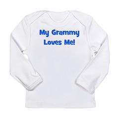 My Grammy Loves Me! Long Sleeve Infant T-Shirt