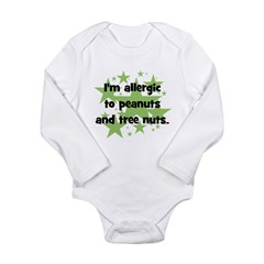 I am allergic to Peanuts & Tr Long Sleeve Infa