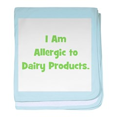 Allergic to Dairy Products (g baby blanket