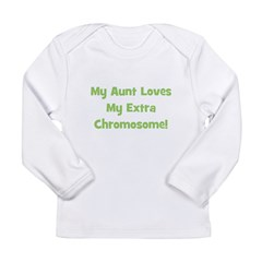 My Aunt Loves My Extra Chromo Long Sleeve Infant T