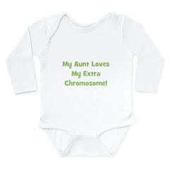 My Aunt Loves My Extra Chromo Long Sleeve Infant B