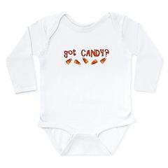 Got Candy? Long Sleeve Infant Bodysuit