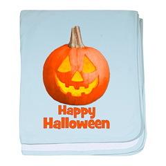 Happy Halloween Pumpkin Jack- baby blanket