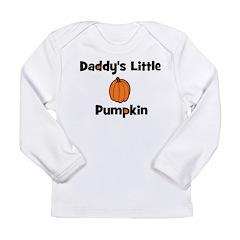 Daddy's Little Pumpkin Long Sleeve Infant T-Shirt