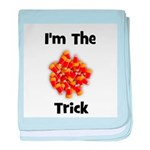 I'm The Trick (candy corn) baby blanket