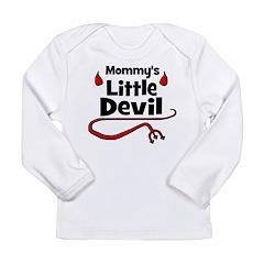 Mommy's Little Devil Long Sleeve Infant T-Shirt