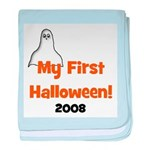 My First Halloween 2008 Ghost baby blanket