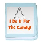 I Do It For The Candy! (ghost baby blanket