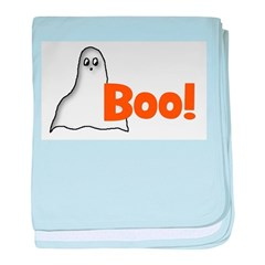 Boo! (ghost) baby blanket