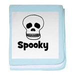 Spooky (skull) baby blanket