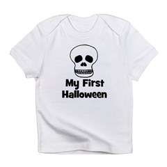 My First Halloween (skull) Infant T-Shirt