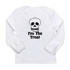 I'm The Treat (skull) Long Sleeve Infant T-Shirt