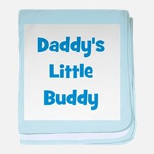 Daddy's Little Buddy baby blanket