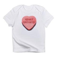 Valentine Candy Heart - Heart Infant T-Shirt