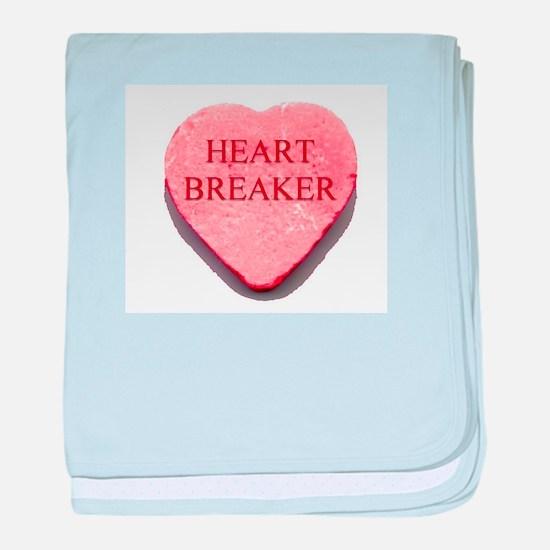 Valentine Candy Heart - Heart baby blanket