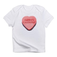 Red Candy Heart - Daddy's Val Infant T-Shirt